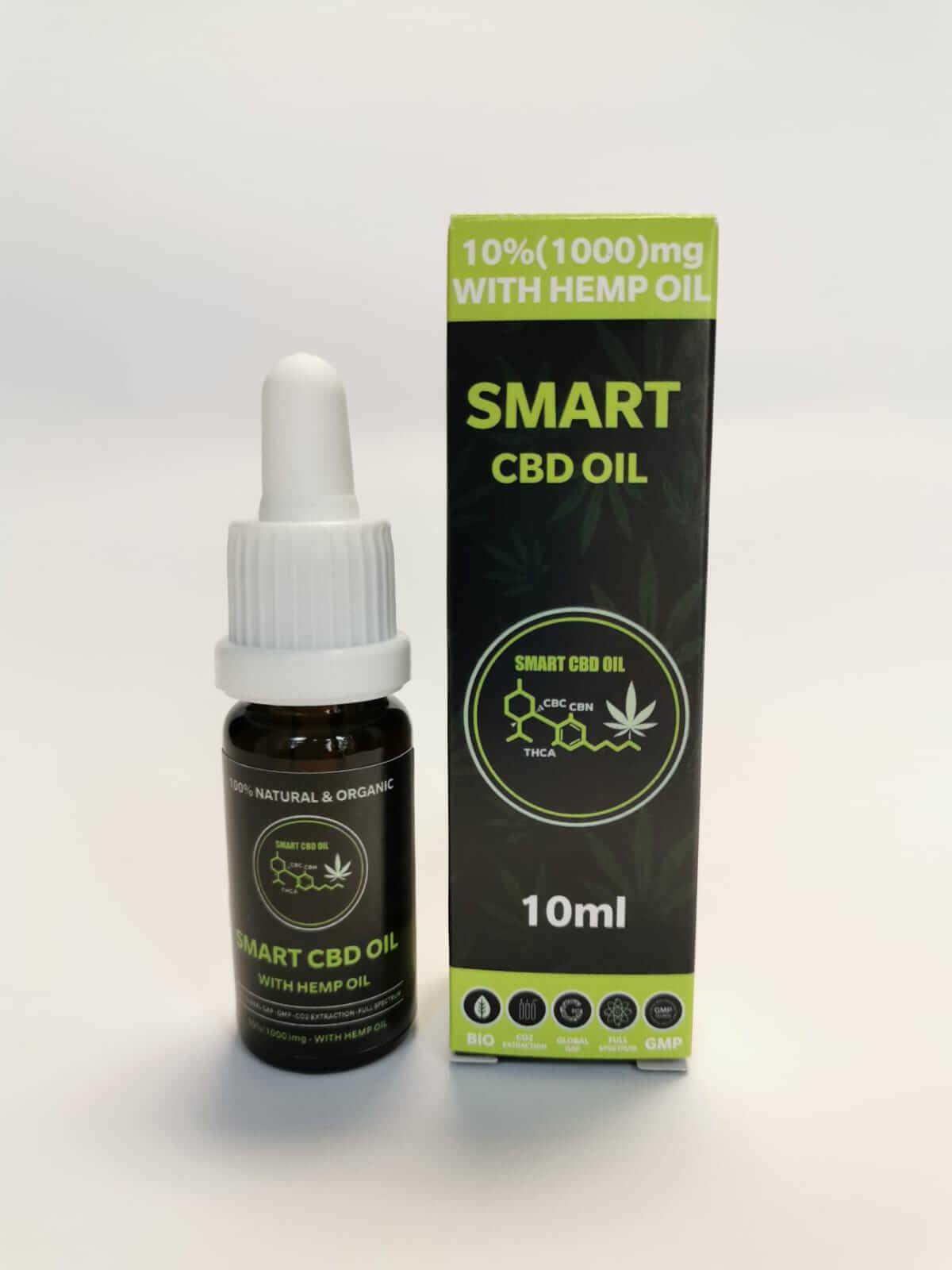 smart cbd olje 10%